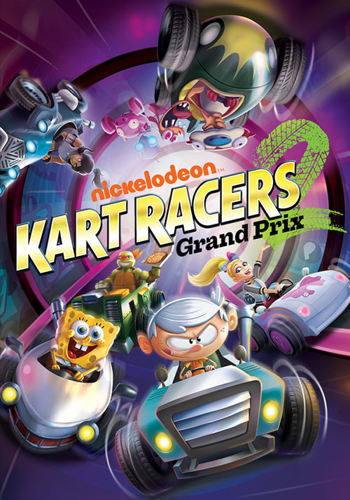 Nickelodeon Kart Racers 2: Grand Prix - Cover / Packshot