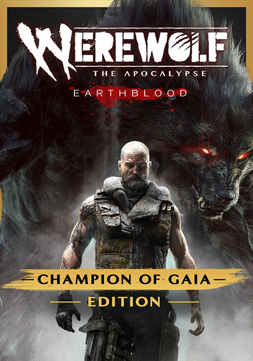 Werewolf: The Apocalypse – Earthblood Champion Of Gaia Edition - Cover / Packshot