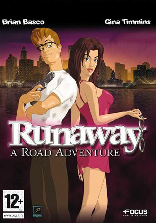 Runaway: A Road Adventure (GOG) - Cover / Packshot