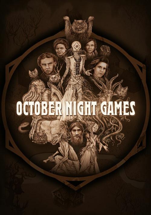 October Night Games - Cover / Packshot