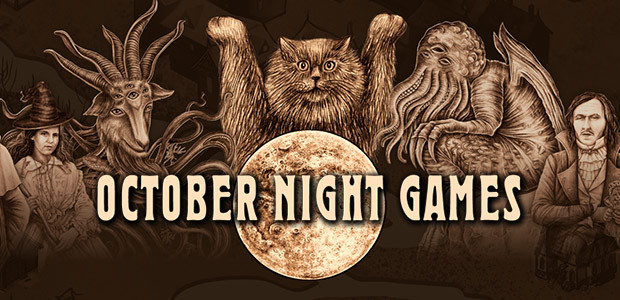 October Night Games - Cover / Packshot
