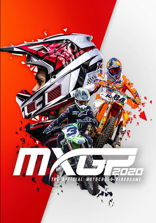 MXGP 2020 - The Official Motocross Videogame - Cover / Packshot