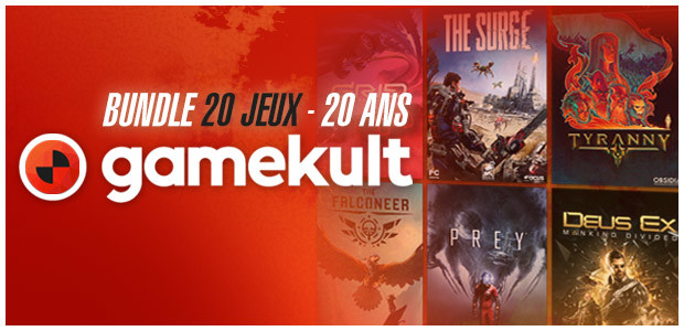Bundle 20 jeux - 20 ans Gamekult - Cover / Packshot