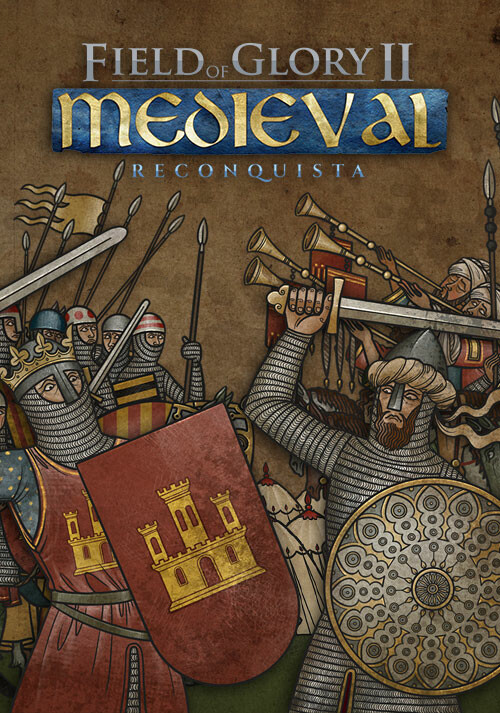 Field of Glory II: Medieval - Reconquista - Cover / Packshot