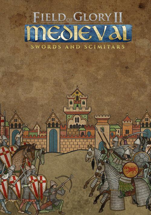 Field of Glory II: Medieval - Swords and Scimitars - Cover / Packshot