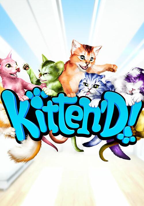 Kitten'd - Cover / Packshot
