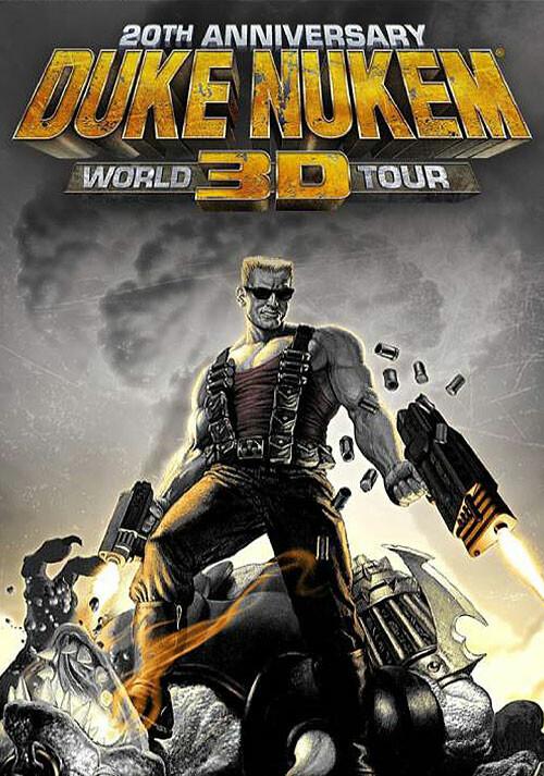 Duke Nukem 3D: 20th Anniversary World Tour - Cover / Packshot