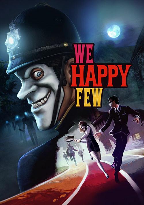We Happy Few - Cover / Packshot