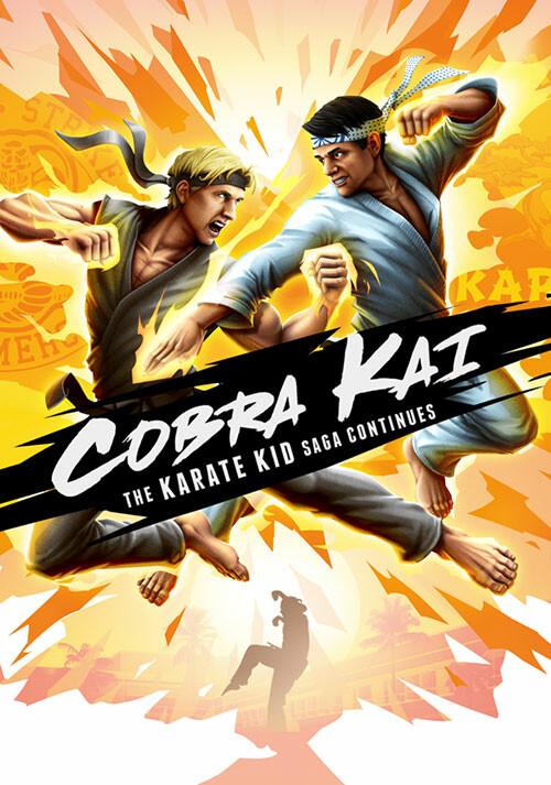 Cobra Kai: The Karate Kid Saga Continues - Cover / Packshot