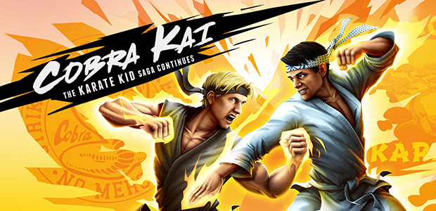 Cobra Kai: The Karate Kid Saga Continues - Cover / Packshot