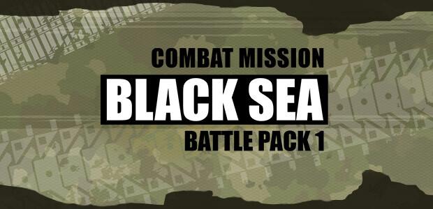 Combat Mission Black Sea - Battle Pack 1 - Cover / Packshot