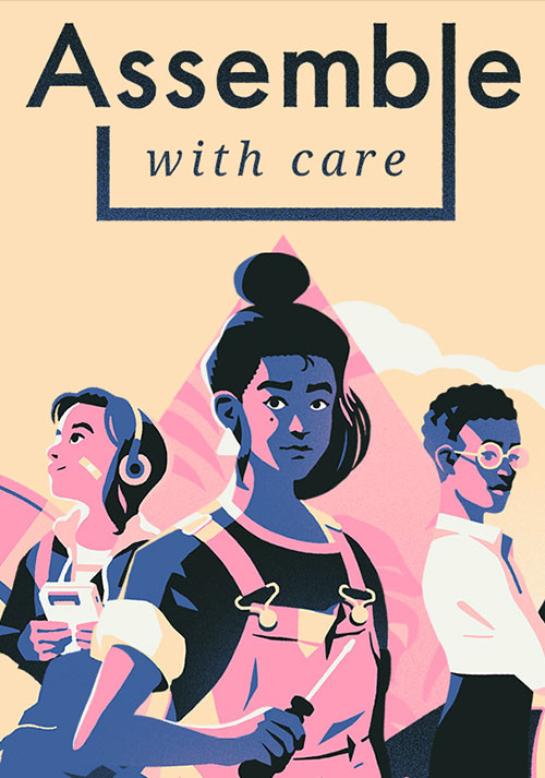 Assemble with Care - Cover / Packshot