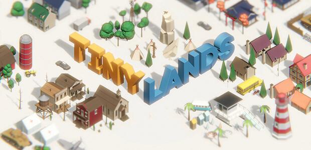 Tiny Lands - Cover / Packshot