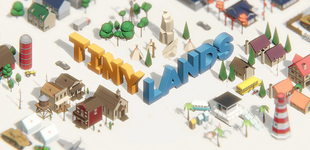 Tiny Lands - Cover / Packshot