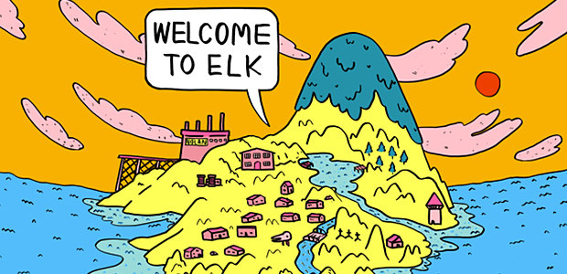 Welcome to Elk - Cover / Packshot