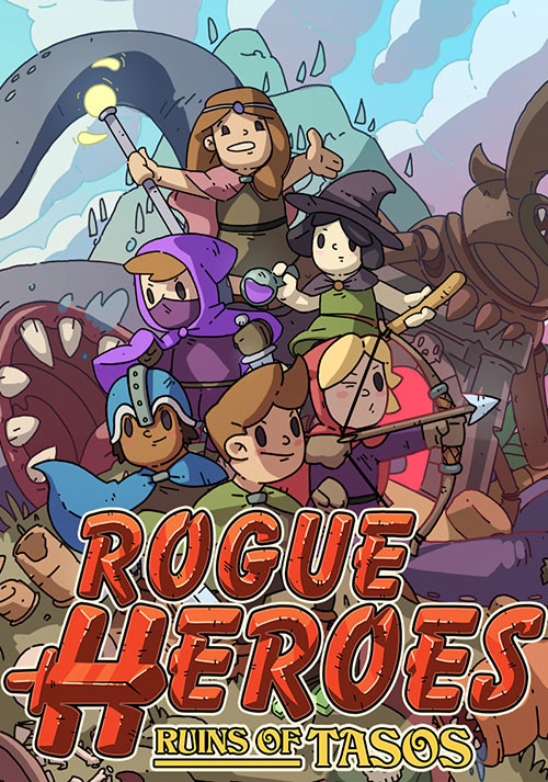 Rogue Heroes: Ruins of Tasos - Cover / Packshot
