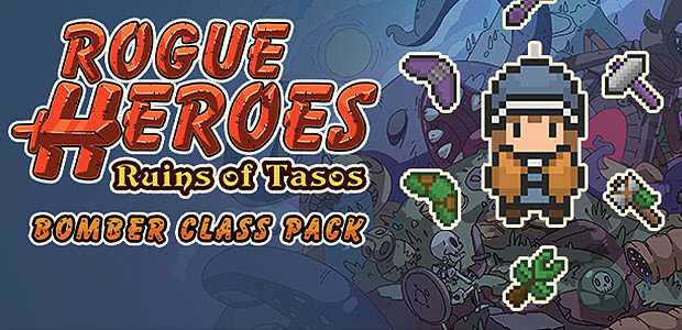 Rogue Heroes: Ruins of Tasos - Bomber Class Pack - Cover / Packshot