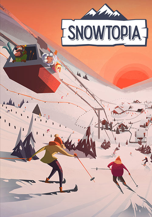 Snowtopia: Ski Resort Tycoon - Cover / Packshot