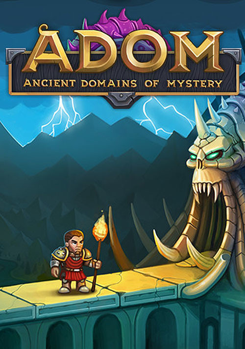 ADOM (Ancient Domains Of Mystery) - Cover / Packshot