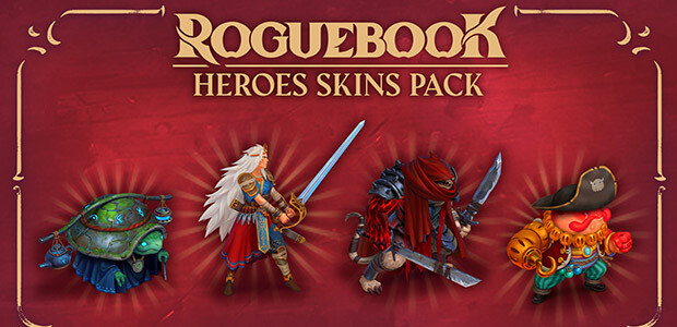 Roguebook - Hero Skin Pack - Cover / Packshot