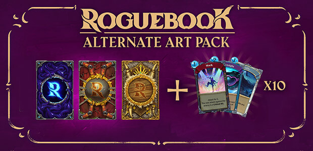 Roguebook - Alternate Art Pack - Cover / Packshot