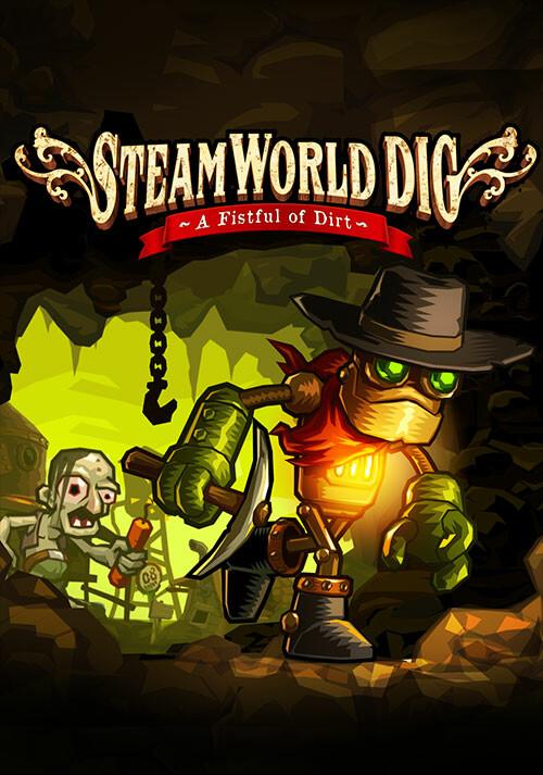 SteamWorld Dig - Cover / Packshot