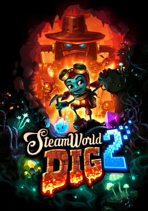 SteamWorld Dig 2 - Cover / Packshot
