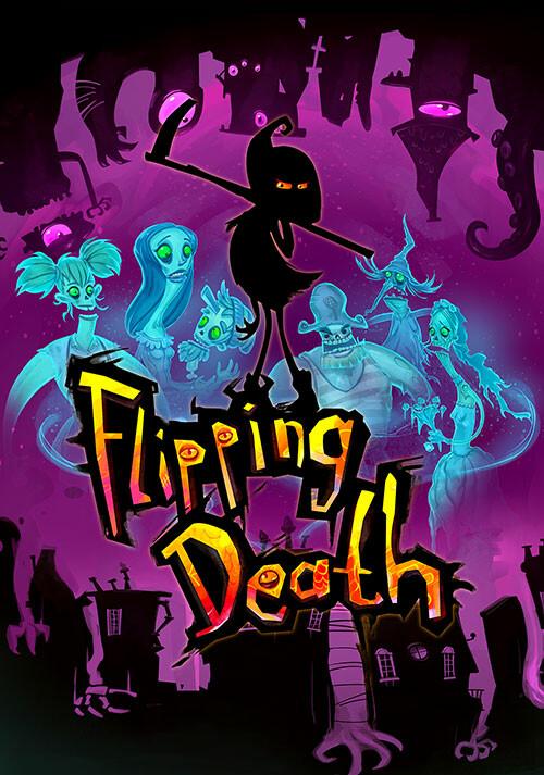 Flipping Death - Cover / Packshot