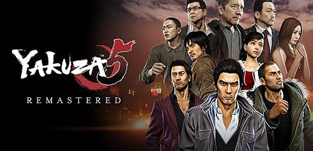 Yakuza 5 Remastered - Cover / Packshot