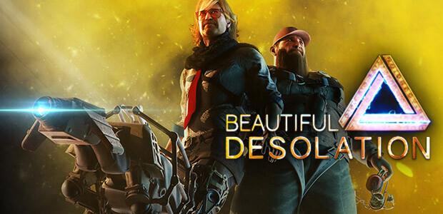BEAUTIFUL DESOLATION - Cover / Packshot