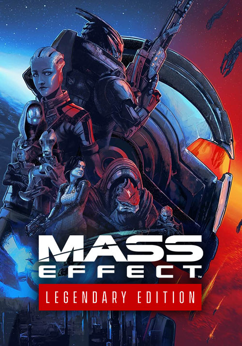 Mass Effect™ Legendary Edition - Cover / Packshot
