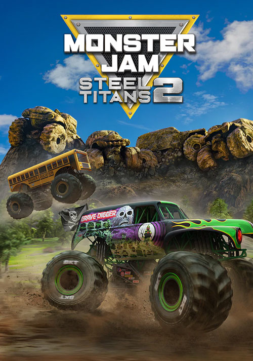 Monster Jam Steel Titans 2 - Cover / Packshot