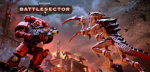 Warhammer 40,000: Battlesector - Cover / Packshot