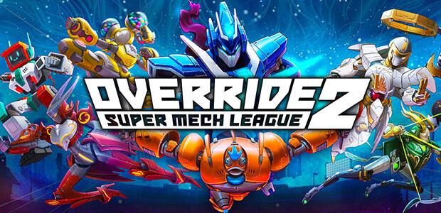Override 2: Super Mech League - Cover / Packshot