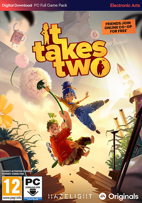 It Takes Two - Cover / Packshot