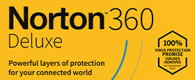 Norton 360 Deluxe | 3 Devices | 1 Year Subscription with Automatic Renewal