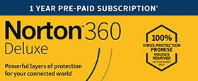 Norton 360 Deluxe | 5 Geräte | 1-Jahres-Abonnement mit automatischer Verlängerung