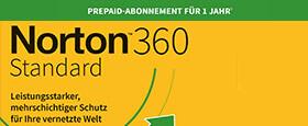 Norton 360 Standard | 1 Gerät | 1-Jahres-Abonnement mit automatischer Verlängerung