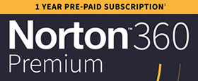 Norton 360 Premium | 10 Devices | 1 Year Subscription with Automatic Renewal