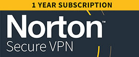 Norton Secure VPN | 3 Device | 1 Year Subscription with Automatic Renewal