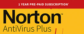 Norton AntiVirus Plus | 1 Device | 1 Year Subscription with Automatic Renewal