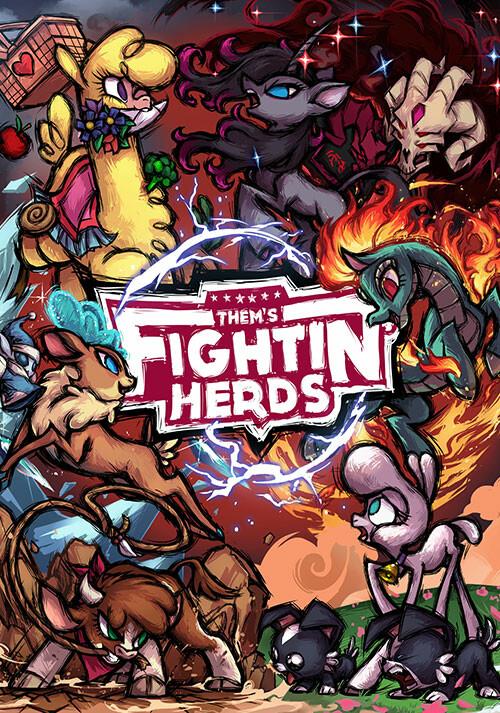 Them's Fightin' Herds - Cover / Packshot