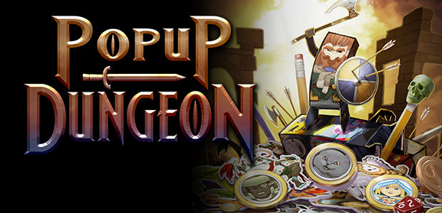 Popup Dungeon - Cover / Packshot
