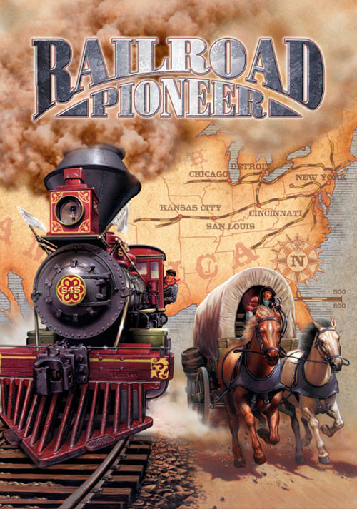 Railroad Pioneer - Cover / Packshot