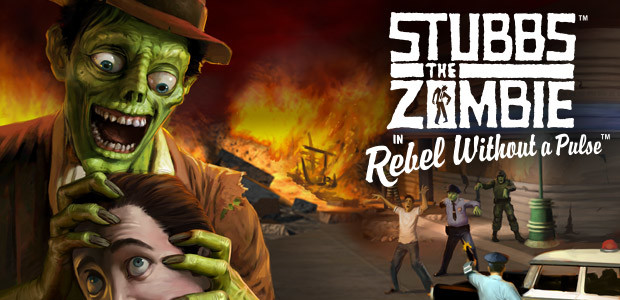 Stubbs the Zombie in Rebel Without a Pulse (GOG) - Cover / Packshot
