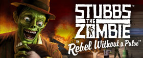 Stubbs the Zombie in Rebel Without a Pulse (GOG)