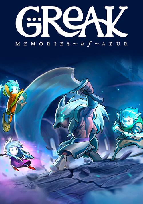 Greak: Memories of Azur - Cover / Packshot