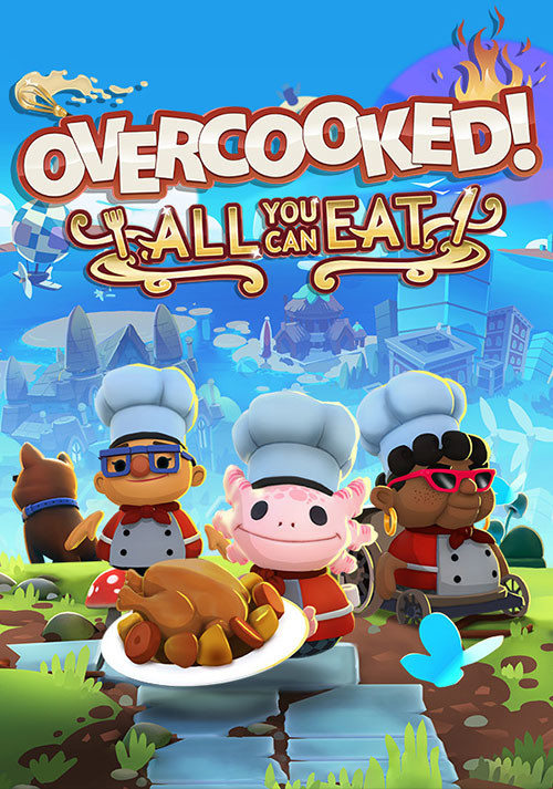 Overcooked! All You Can Eat - Cover / Packshot