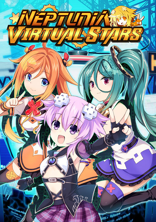 Neptunia Virtual Stars - Cover / Packshot