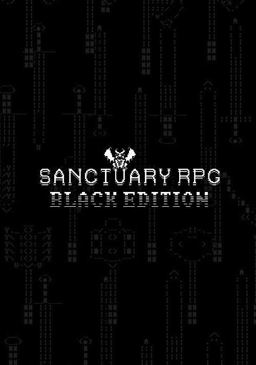 SanctuaryRPG: Black Edition - Cover / Packshot